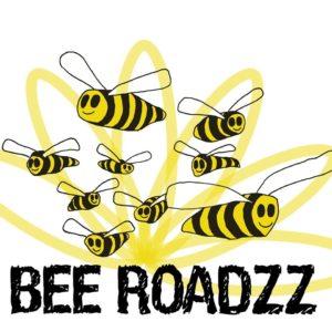 A bee logo